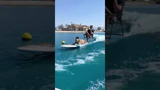 Amazing Surfing With Dog ||