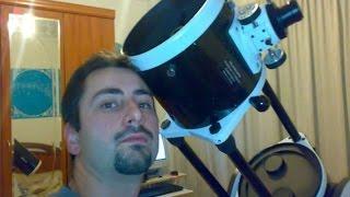 ¿Cómo se ve el cielo con mi telescopio?