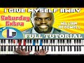 🎵 I GIVE MYSELF AWAY piano tutorial: WILLIAM MCDOWELL I give myself away cover (PIANO TUTORIAL)