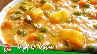 Vegetable Kurma Recipe  Vegetable Coconut Curry Recipe  How To Make Veg Kurma  Foodworks