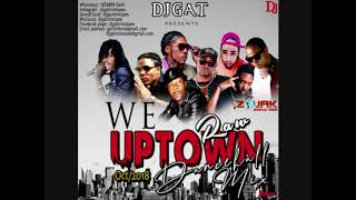 DANCEHALL MIX OCTOBER 2018 DJ GAT WE UPTOWN FT VYBZ KARTEL TEEJAY//SQUASH/ALKALINE