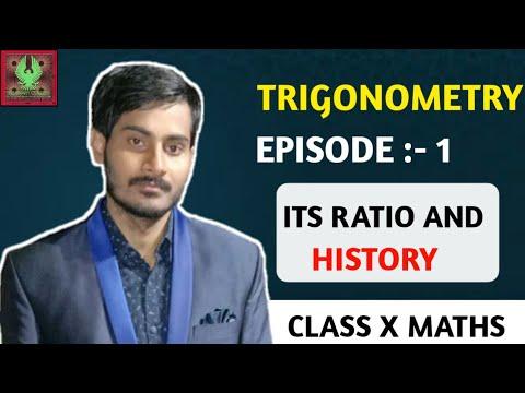 Trigonometry Part -- 1 | Trigonometric ratios & History in details | By - MD Shahnawaz Khan [HINDI]