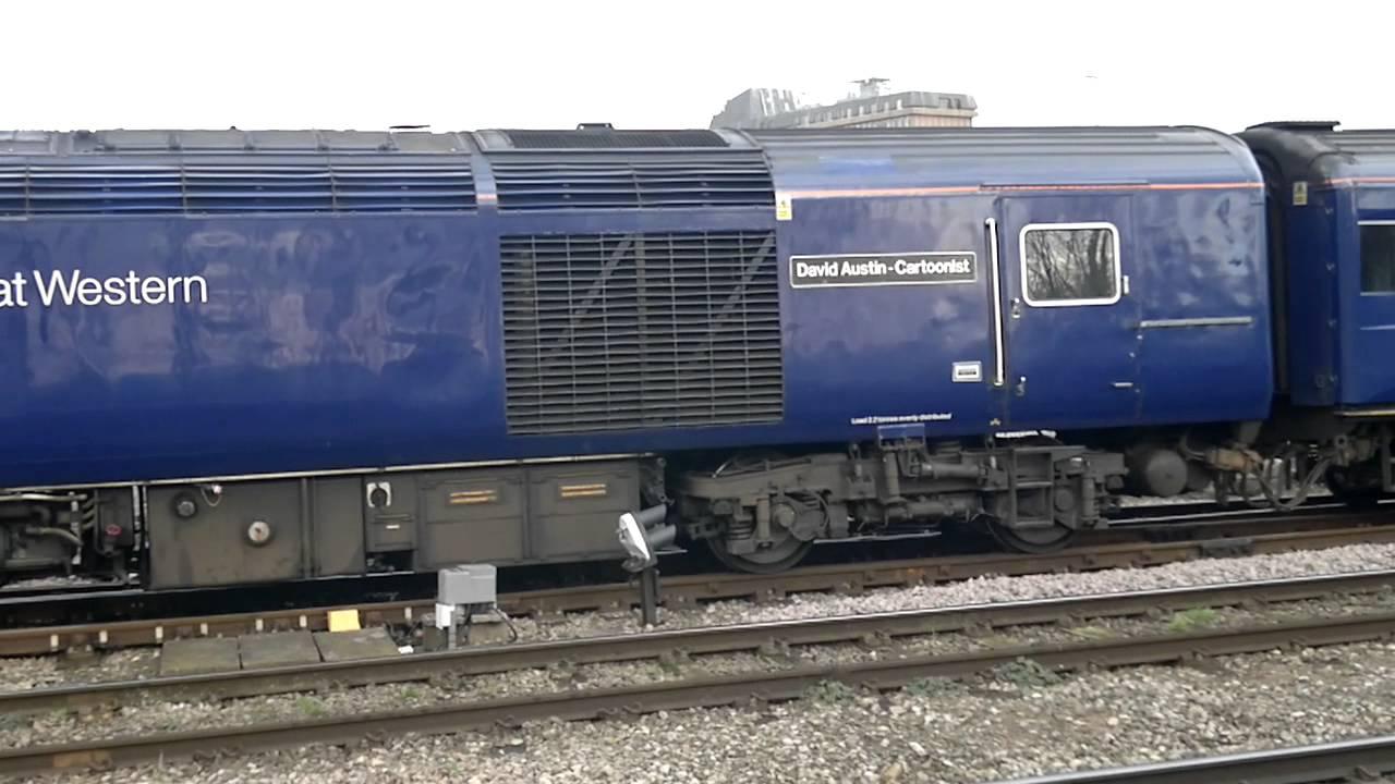 FGW Class 43 HST MTU Engine Coolant Shut Down 22/01/2012 ...