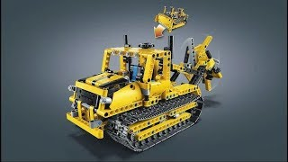 Lego Technic 42028 Bulldozer Model B (Trench Digger). Need For Bricks. Speed Build. Old video