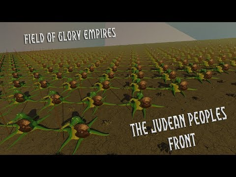 Field of Glory Empires - The Judeans Peoples Front part 35 - Surgical AI strikes |