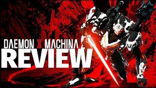 Daemon X Machina Review - Epic Symphony of Mechanical Mayhem (Video Game Video Review)