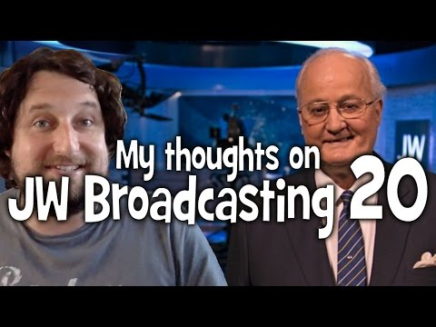 My thoughts on JW Broadcasting 20, with Tony Morris (tv.jw.org) - Cedars' vlog no. 121