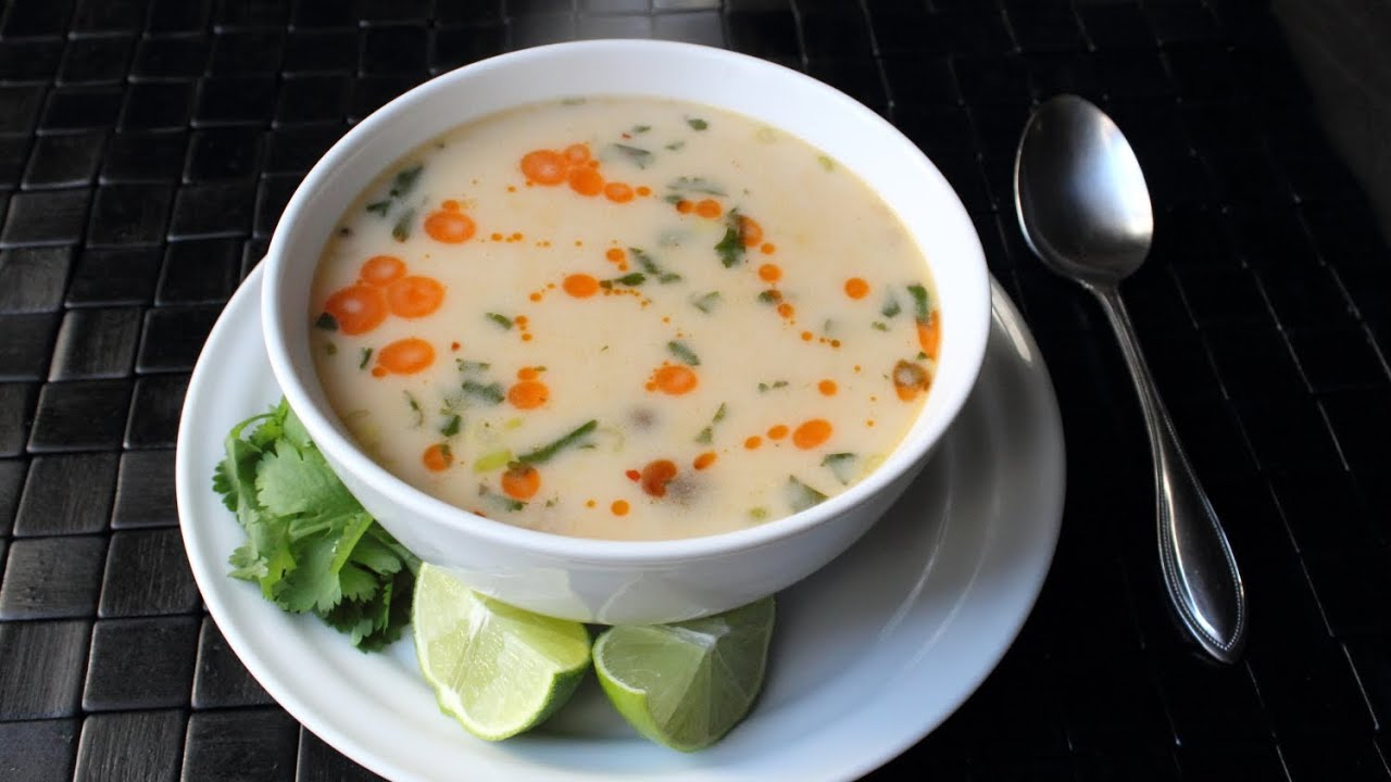 Tom Kha GaiSpicy Thai Coconut Chicken (or Turkey) Soup Recipe