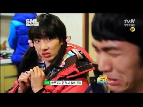 "[Vietsub][130413] SNL Korea 2AM - ""Dad,Where Are You Going?"" Parody"