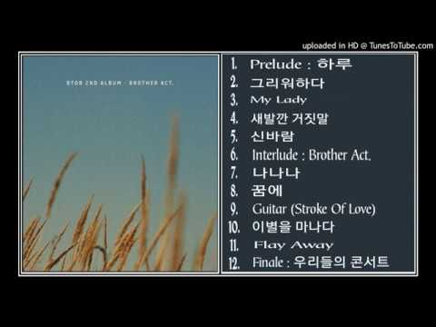 (171016) [Full Album] BTOB (비투비) - BROTHER ACT [2nd Album]