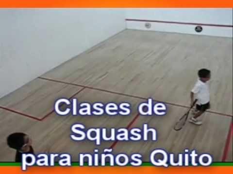 Clases de Squash para niños Deportes Ecuador Cel 093411616 Quito y los valles