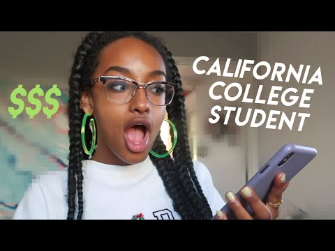 What I Spend In A Week In Los Angeles (20 years old)