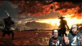 Ghost of Tsushima Live REACTION! UNBELIEVABLE!