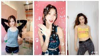 Tik Tok control raindrop dance in china-Tik tok hot dance 2018