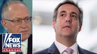 Alan Dershowitz on FBI raid on Michael Cohen's office