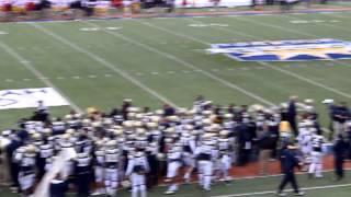 Georgia Tech Sideline Celebration 2012 Sun Bowl Victory