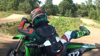 Kinder Motocross - und auch mal mit großem Bike