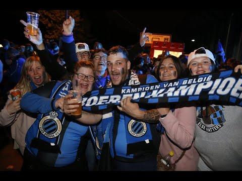Fans wachten massaal kersverse kampioenen van Club Brugge op aan Jan Breydelstadion: volg het hier l