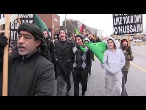 Imam Hussain Foundation Windsor Ontario Canada (Maseera 2013)