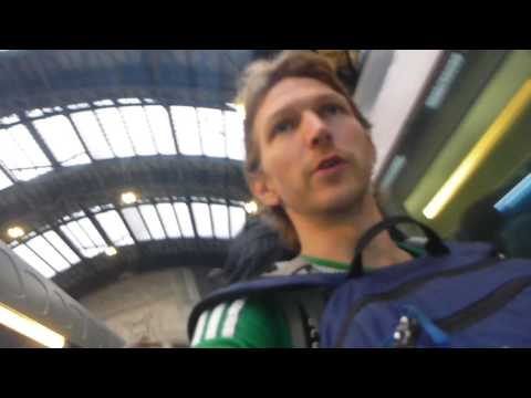 Milan Italy to Nice France train  Part 1   June 2016