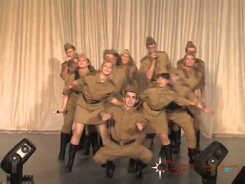 ВГ ЭКИПАЖ- Попурри песен военных лет (с участием шоу-балета HELP) СПБ УГПС МЧС РФ.