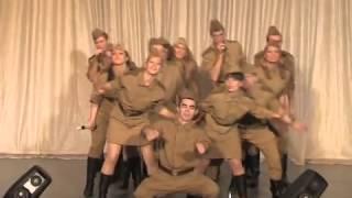 ВГ ЭКИПАЖ- Попурри песен военных лет (с участием шоу-балета