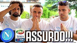 CALENDARIO ASSURDO!!! REACTION SERIE A 2018/19