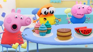 Peppa Pig Official Channel | Fun Play with Peppa and Doh-doh | Play-Doh Show Stop Motion