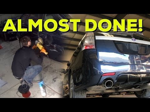 END OF THE SAAB VIDEOS.... Paint Correction Pt.3 Daily Driver Rebuild