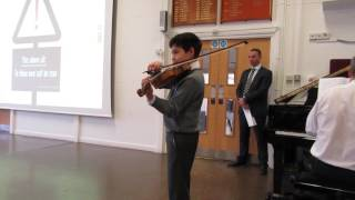 ethan age 10 theme from schindler s list