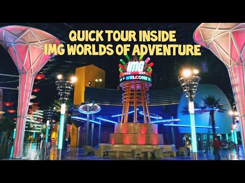Quick Tour Inside iMG WORLDS of ADVENTURE @ Dubai (P-2)