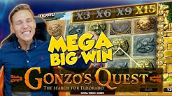 BIG WIN!!!! Gonzos Quest Big win - Casino - Bonus compilation (Online Casino)
