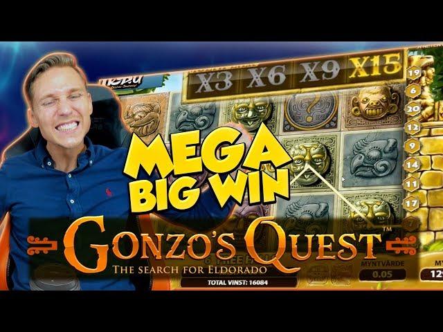 BIG WIN!!!! Gonzos Quest Big win - Casino - Bonus compilation (Online Casino)