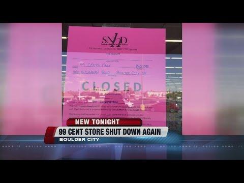 Boulder City 99 Cent Store shut down for pest infestation