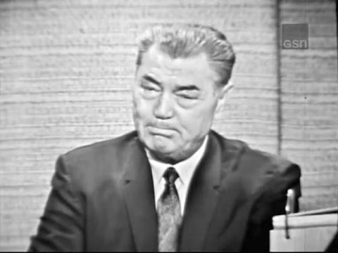 What's My Line? - Jack Dempsey; Tony Randall [panel] (Jul 11, 1965)