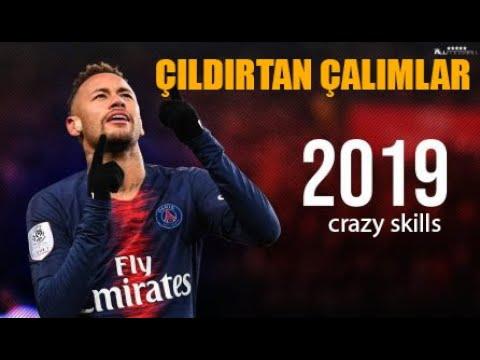 NEYMAR ÇILDIRTAN ÇALIMLARI Neymar Crazy Skills