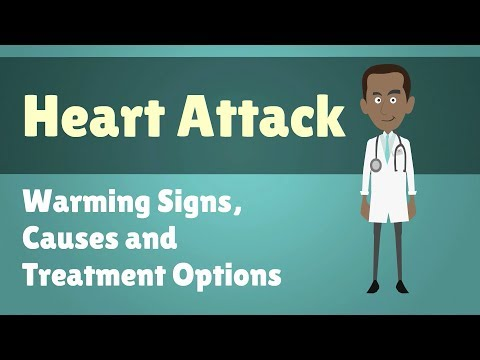 Heart Attack - Warming Signs, Causes and Treatment Options