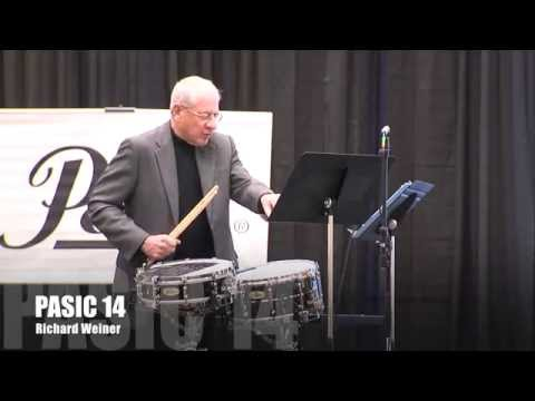 PASIC14 Richard Weiner Symphonic Clinic Highlight