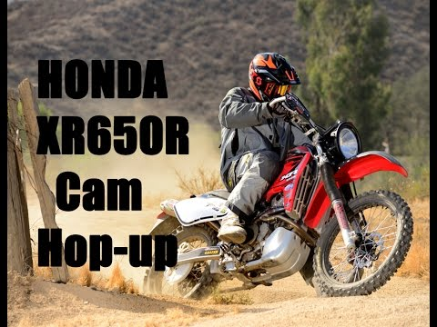 Honda XR650R Installing a Cam. What does it do? - YouTube
