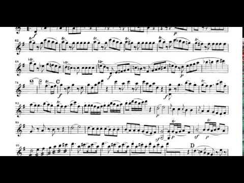 Mozart Eine Kleine Nachtmusik k.525 violin sheet music