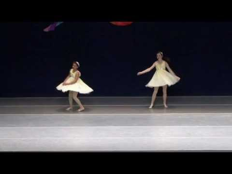 """Mooresville Arts Partnership - Lyrical Duet """"Yellow"""" at Rainbow Dance Competition, Indiana"""