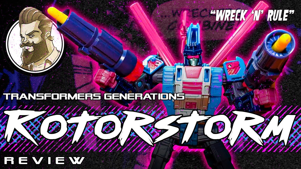 Don't call it a Comeback! Generations Selects Rotorstorm Review By Ham Man