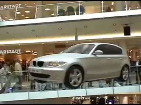 Flying BMW 1Series - Flying Car - Event - Car Show - Promotions