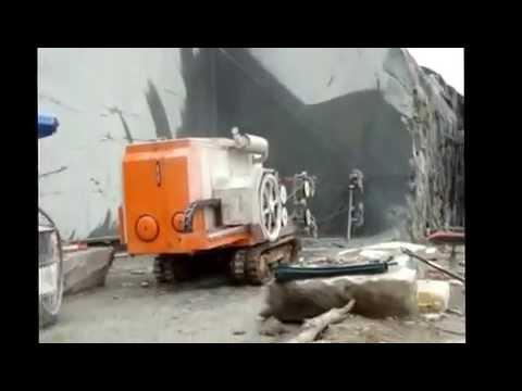 Diamond Wire Saw Machine Marble Quarry Cutting Youtube