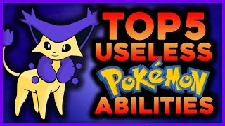 Top 5 Pokemon With Useless Abilities