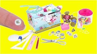 Real Miniature Sewing Supplies