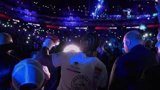 David Haye ringwalk before Tony Bellew rematch