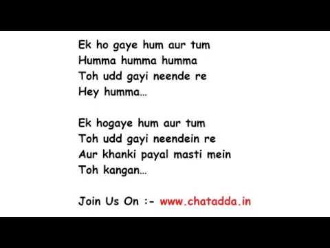 Ek hogaye hum Aur Tum song