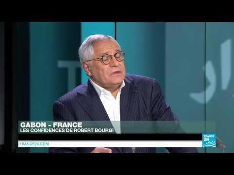 """Robert Bourgi: """"Le Gabon est assis sur une poudrière qui menace d"""