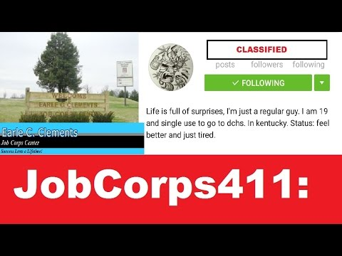 Job Corps 411 Inside Earle C Clements Job Corps Interview Youtube